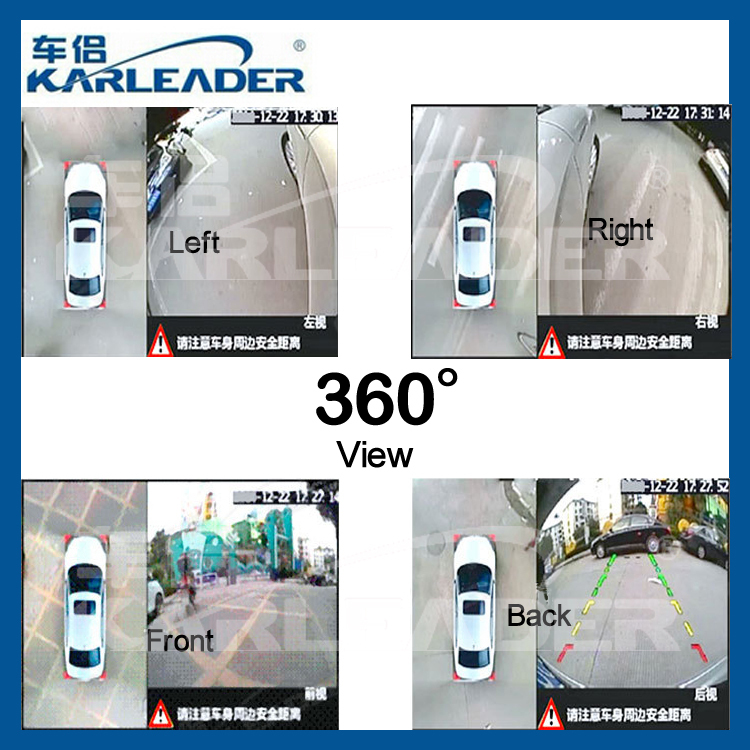 4 birds eye view cameras newest 360 view car camera system