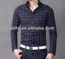 2013 autumn fashion men's long sleeve shirt