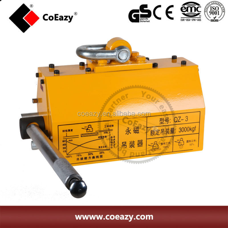 coeazy -- new magnetic lifter 600 kg 1320 lb lifting magnet with high quality