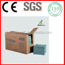 Spunlace Nonwoven Lint Free Industrial Wipe