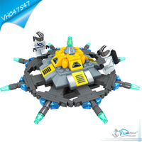 Plastic Building Block UFO Toy