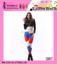 Wholesale 2014 Fashion New Lady Women Hot World Cup Russia Flag leggings