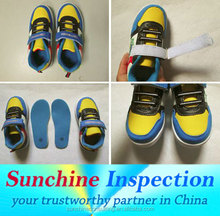 shoes inspector from professional third party inspection agent in China