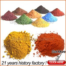 Manufacturer hot sale iron purity 95% oxide red 190 pigment for pavers/tiles/rubber mulch/concrete coloring