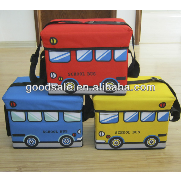 Fashionable and cheap foldable food cooler bag