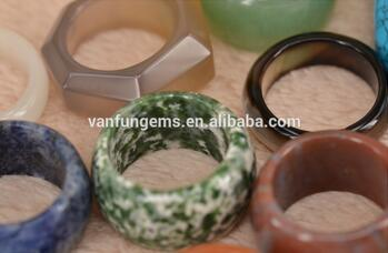 Gemstone Rings agate jade rings