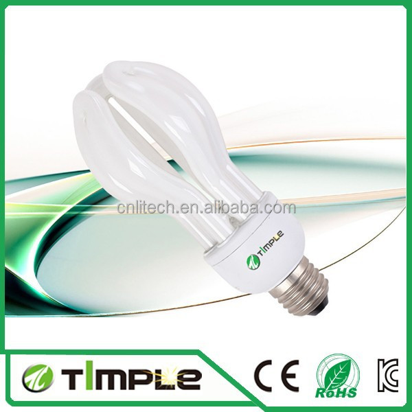 Wholesale cfl bulbs directly sell CFL lamp Lotus energy saving light bulb Hangzhou 100% Tri-phosphor