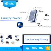 Advanced 10MW 1 Mw Pv Solar Panel Assembly Line Equipment