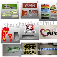 screen printed Where to Get Vinyl Stickers from silk screen printing factory
