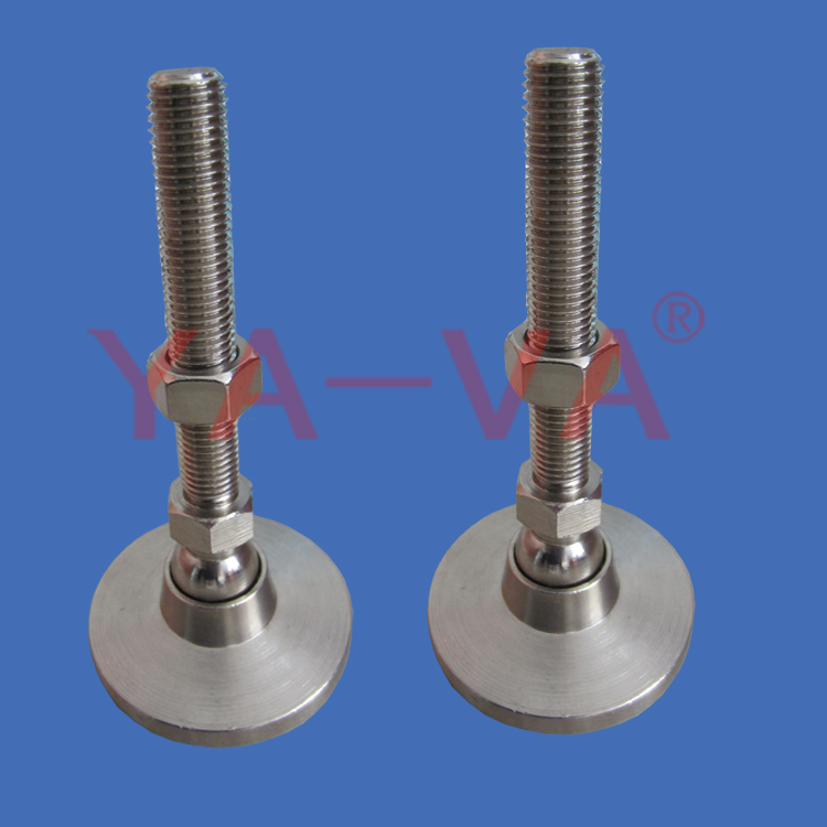 Furniture Swivel Ball Mount Stainless Leveling Feet