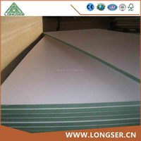 1220x2440mm E2 Glue Melamine Waterproof MDF Board