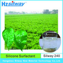 CAS No.134180-76-0 Silway 240 high efficiency super spread wetting Surfactant agent for Agricultural