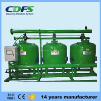 CDFS carbon steel material sand filter for swimming pool filtration