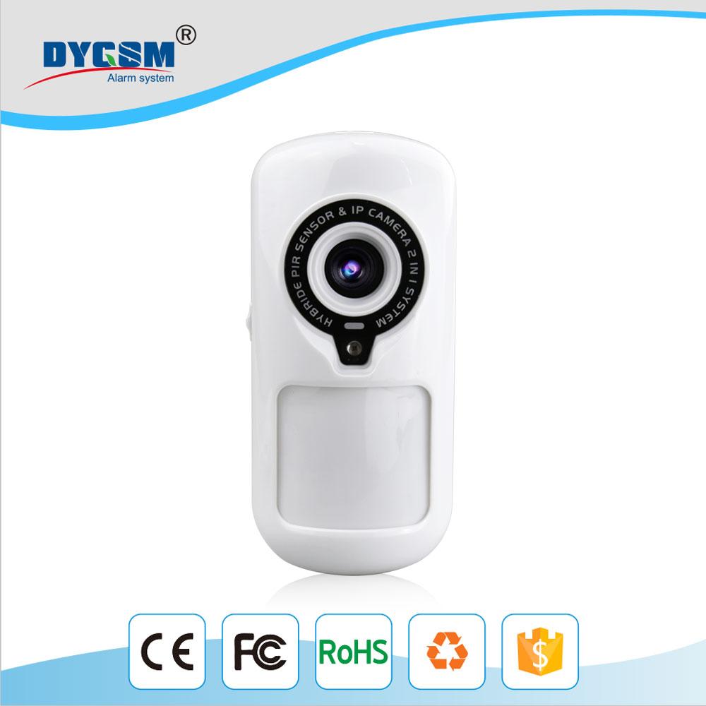 Smart Home App Control Hybrid Wi Fi Pir Sensor Camera For Security Based System Alarm