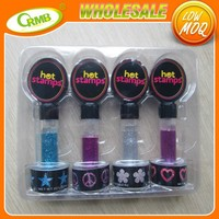 Wholesale Fashion Hair Glitter For Kids Includes 4 Hot stamps