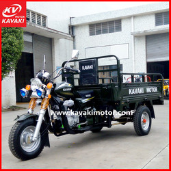 Export To Africa Container Loading CKD Packing 3 Wheel Self-Discharging Motorcycle