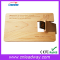Eco-friendly bamboo woooden card bamboo usbvcard2.0/usb3.0