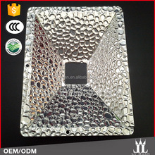 China Manufacture Accessories Hammer Embossed Aluminum Sheet For Led Panel Light