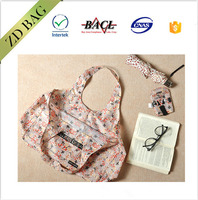 Wonderful art pattern foldable tote shopping waterproof bag