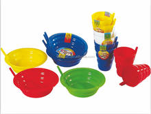 650ml plastic kids straw bowl with straw
