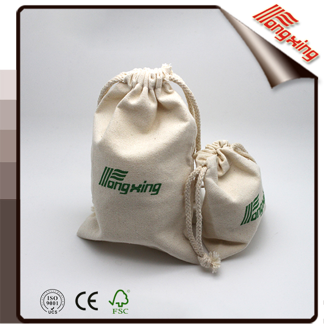 Professional factory supply canvas jewelry bags