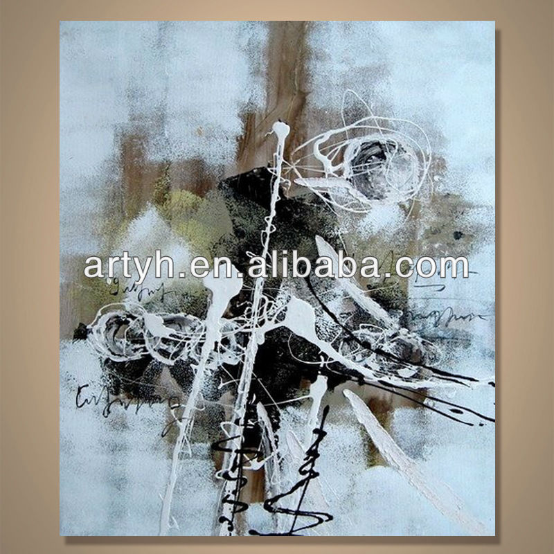 Popular modern handpainted oil painting pictures art