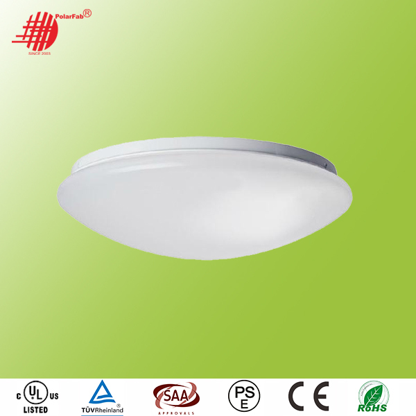 CE RoHS SAA Surface mounted LED Ceiling Lamp, 12V 24V 220V Microwave sensor LED Ceiling Light, 12W 18W 24W 30W Ceiling LED Light