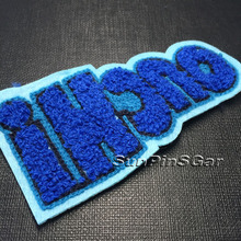 custom felt embroidery patch label chenille badge