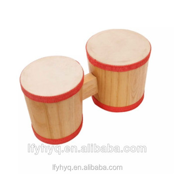 wooden bongo drum wholesale educational toys turkish musical instrument