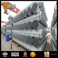 china supplier building material galvanized tube for greenhouse