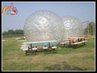 Giant inflatable zorb ball/human hamster ball/Cheap price grass zorbing ball for sale
