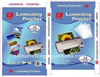 A4 Laminating pouch film