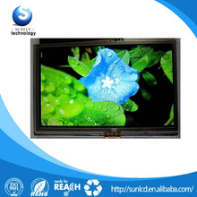 "7"" tft lcd screen 800x480 RGB 6 bit 7 inch lcd display screen"