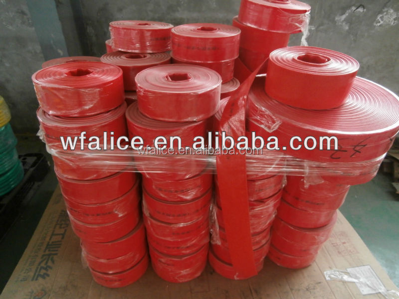 "new product 2014 hot China 3/4""-12"" PVC Layflat Hose, flat soaker hose/pipe/tube"
