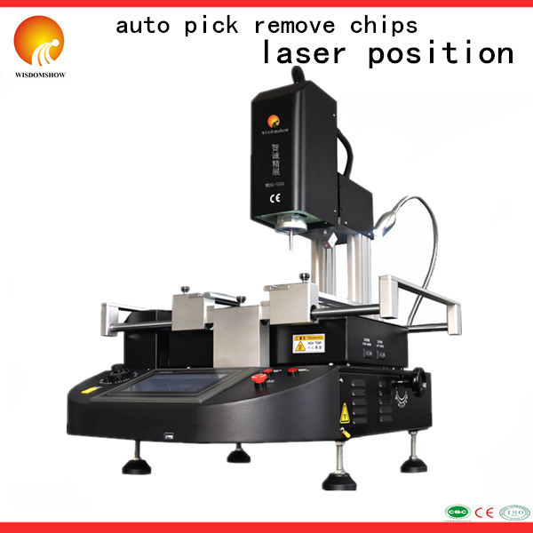 Cheap & Successful IR 2700W WDS-550 LED Repairing Reballing System BGA Soldering Station For Laptop Chips