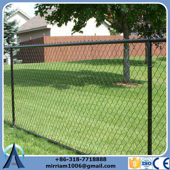 Wholesale China Factory long-lasting protection baseball field chain link fence