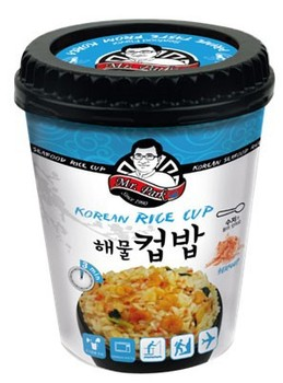 [Mr.Park] Korean Instant Cup Rice - Sea Food - 4 min.