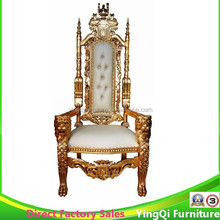 Antique Large Wedding King Throne Chairs