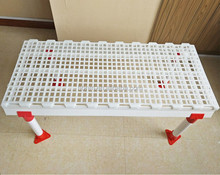 2016 hot sale poultry chicken plastic slat floor for broiler and breeder chicken farm house
