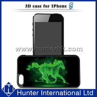 For iPhone Case 3D Horse Design For iPhone5