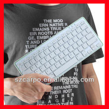 Wholesale Bluetooth Keyboard Wireless 76 Keys Keyboard Stand Hard Case Keyboard For Apple iPad 2/For iPad 3 H269