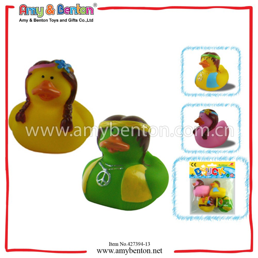 Promotion Pair Indian Girls Bath Toys Rubber Toy