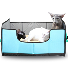 Eva travel foldable breathable pet cat cute dog pad kennel