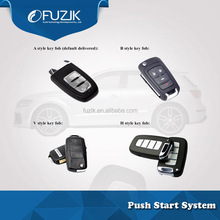 PKE Car Alarm Remote Engine Start/Stop Button System/Car Alarm System with Remote Engine Start for Yeti Skoda