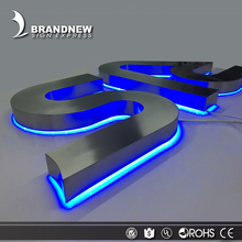 3d led sign acrylic custom stainless steel led backlit letters signs