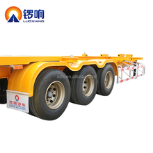 Luoxiang container truck trailer chassis for exporting