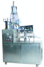 Metal tube filling and sealing machine, automatic filling machine, swift glue machine