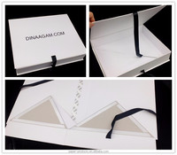 Custom luxury paper collapsible magnetic closeure gift box