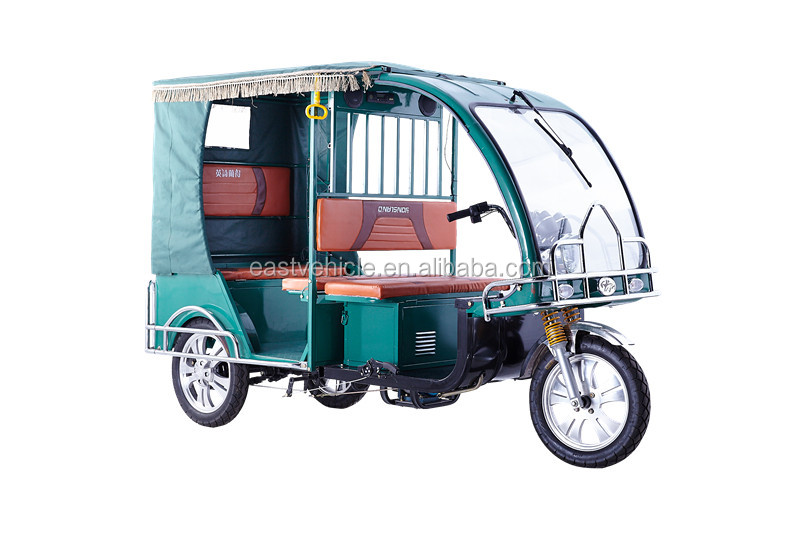 Southeast Asia hot selling electric passenger auto rickshaw