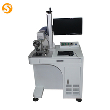 Cheap price 10w 20w 30w 50w mini metal optical Fiber color Laser Wire engraving Marking Machine for sale